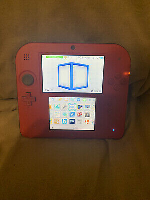 Nintendo 2DS Perfect condition HACKED