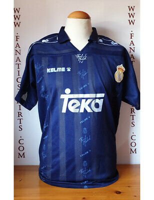 Real Madrid 90s Away Camiseta Futbol Kelme Alternativa Shirt Trikot Maglia