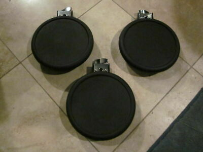 3 Pack ! Roland PD-8 Double Trigger V Drum Pad Vdrum PD8