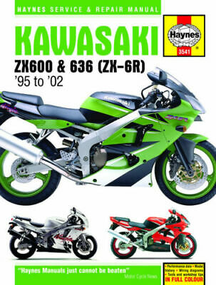 Kawasaki Zx600 & 636 Zx-6R 1995-2002 Haynes Workshop Manual 3541