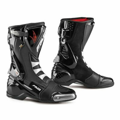 Falco Eso LX 2.1 Mens Sport Motorcycle Boots Black