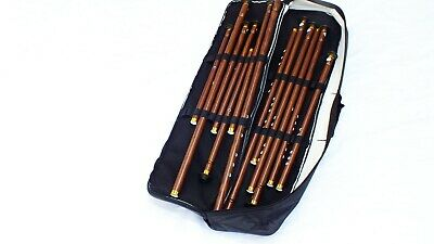 Turkish Woodwind Plastic Ney Set 13 PCS Nay Flute