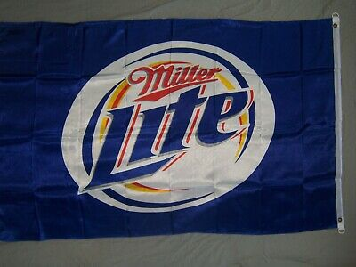 MILLER LITE LIGHT BEER FLAG NEW 3X5ft banner sign better quality usa seller