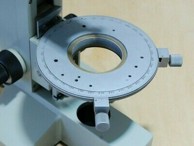 LOMO large rotating table for the Polam polarizing microscope