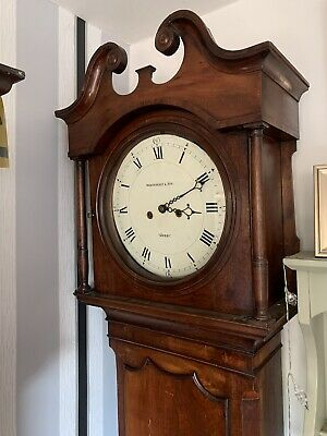 Rare John Whitehurst And Son Derby Longcase Grandfather Tall Long Case Clock