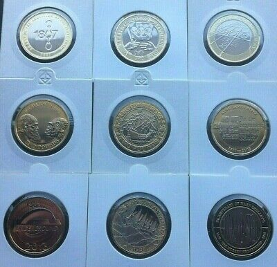 Two £2 Pound Coins Brilliant Uncirculated Various Rare 1989-2020 Choose Coin