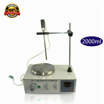 Magnetic Stirrer with Heating Plate 85-2 Hotplate Mixer 220V 2000ML Lab Grade