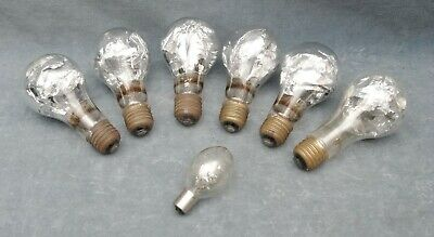 Lot Of 6 Very Large Foil Filled Vintage Flash Bulbs (Pk)