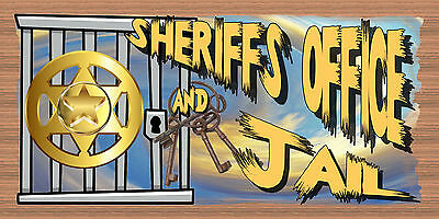 Wood Signs - Sheriff's Office- Western Sign - Childs Room - Wood plaque