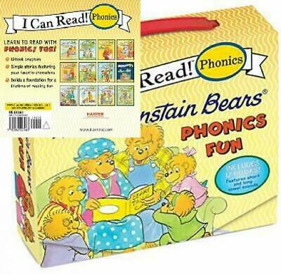 The Berenstain Bears 12-Book Phonics Fun!: Includes 12 Mini-Books Featuring...