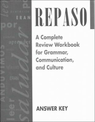 Repaso Answer Key by McGraw-Hill 0844274224 FREE Shipping