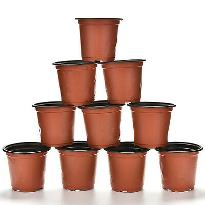 Small Plant Pots Terracotta Plastic Flower Pot Cactus Tiny Supplies UK In Stock
