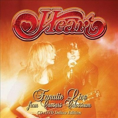 Fanatic Live from Caesars Colosseum  CD+DVD  SET HEART ( FREE SHIPPING)