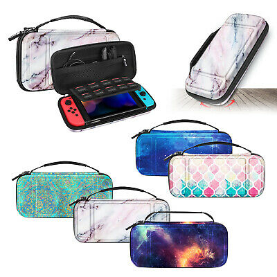 For Nintendo Switch Carry Case Shockproof Hard Shell Portable Pouch Travel Bag