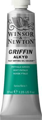 Winsor & Newton Griffin Alkyd Fast Drying Oil Colour 37ml Tubes