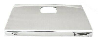 """UP Glove Box Cover for International IHC """"I"""" Model Stainless Tape Mount #21725B"""