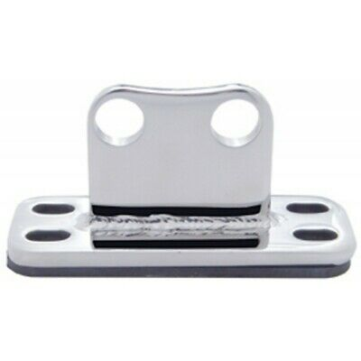 UP Exhaust Stack Cab Bracket Flat Bottom for Peterbilt Stainless #21300 Each
