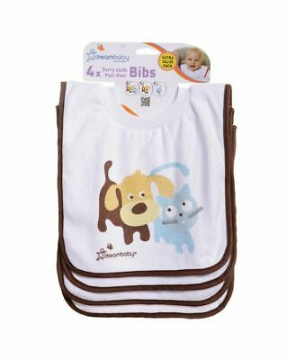 Pullover Bibs - Pets - 4 Pack