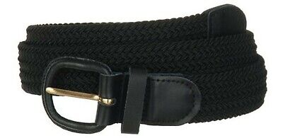 Men's Braided Elastic Stretch Belts-1.25 Width New Without Tag