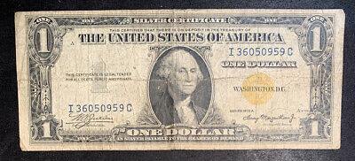 1935-A North Africa Yellow Seal $1 Silver Certificate #2