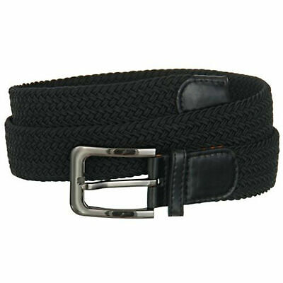 """Premium Men's Braided Stretch Belts - Comfortable Golf Belt 1.5"""" New Without Tag"""