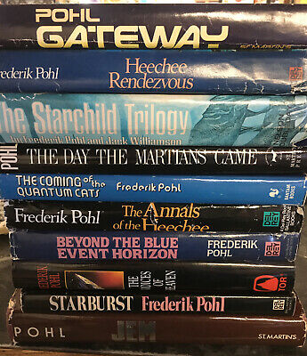 Lot Of 10 Frederick Pohl Hardcovers