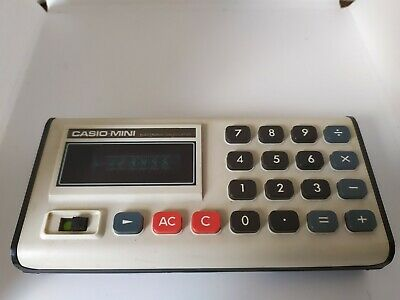 CASIO-Mini CM-605, Calculator, 100% working!, Taschenrechner, rare, vintage