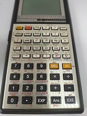Vintage Casio fx-7000G Scientific Calculator with Case (Working)