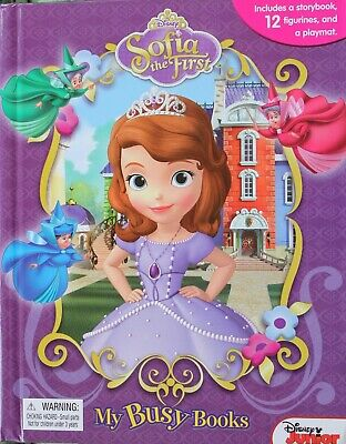 My Busy Books:  Sofia The First!  Fun Preschool Playset Toy! New!