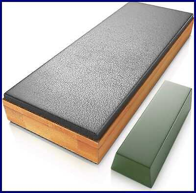 Classic Leather Strop Kit W Polishing Compound Knife Stropping Block For Sharpen