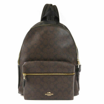 COACH  F58314 Backpack · Daypack Signature PVC Leather