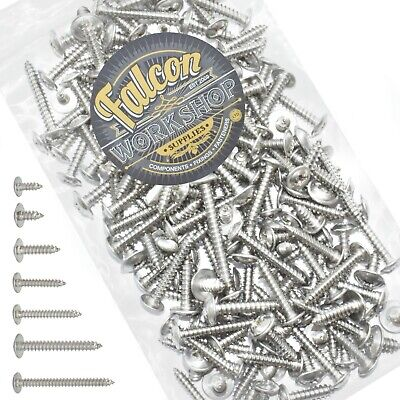 200g MIXED PACK OF STAINLESS STEEL A2 POZI FLANGE HEAD SELF TAPPING SCREWS