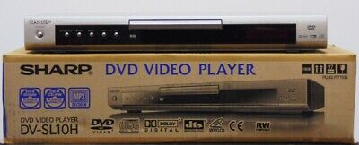 Sharp DVD VIDEO PLAYER Scart connection MP3 Playback DV-SL10H