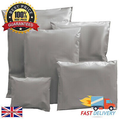 Mailing Bags Strong Grey Postage 100% Recyclable Multi Listing