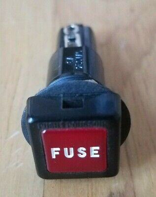 Sea Dog Dash Mount Fuse Holder with Push-In Cap - 6A 250V.AC