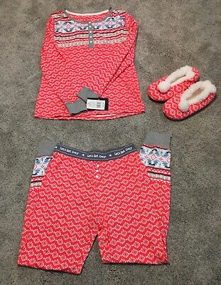 Women's Cuddl Duds Pajamas. New With Tags. Extra Small