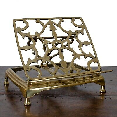 Folding Brass Book Stand
