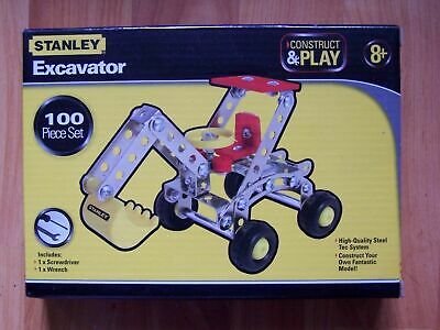 STANLEY BUILD A FORKLIFT 93 PIECE SET NEVER OPENED