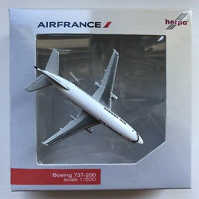 Air France Boeing 737-200 F-GBYB Herpa 1:500 520973 Model Aircraft