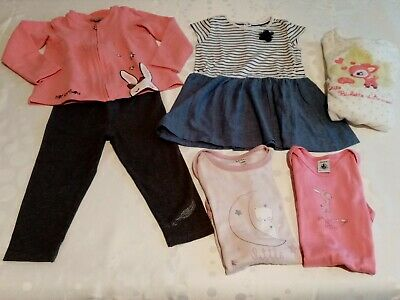 LOT n°2 => Vêtements Fille 2 Ans