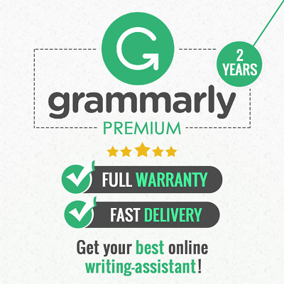 Grammarly Premium | 2 YEARS | Fast Delivery & Full Warranty