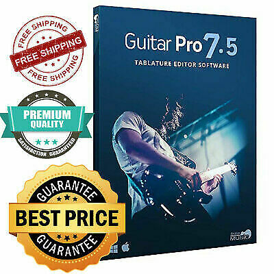 2020 GUITAR PRO 7.5 Pro New Version Lifetime  Windows 7,8,10