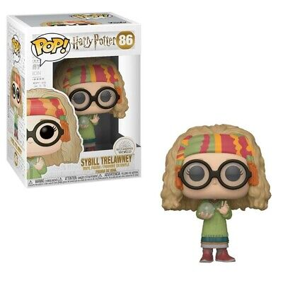 Funko POP ! Movie - Harry Potter Yule - Professor Sybill Trelawney 86!!! NEW !!!