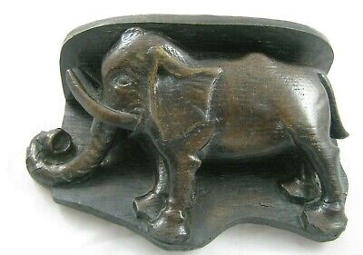 Vintage Elephant Carving, Exeter Cathedral  Oakapple Designs.