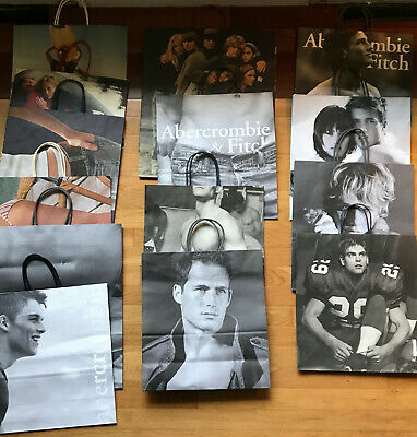 67 Abercrombie & Fitch Shopping Bags, AF, A&F