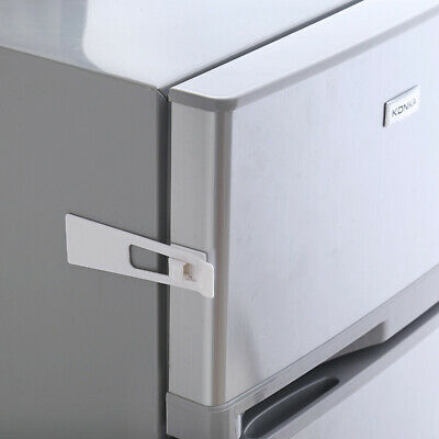 Child Safety Lock Refrigerator Cabinet Lock for Baby Security Safe Protectio~WF