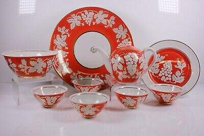 Vintage Russian Part Porcelain Tea service 20th Century