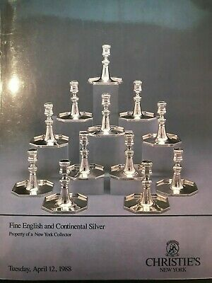 Christie's Fine English & Continental Silver Property From A Ny Collector