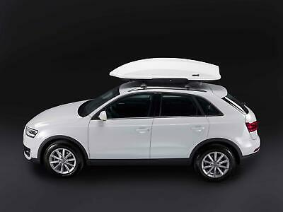 Thunder 520L White Gloss Roof Box, Stand out from the crowd