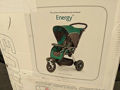 Chicco Activ3 Jogging Stroller. Color is Energy. Brand New in Box